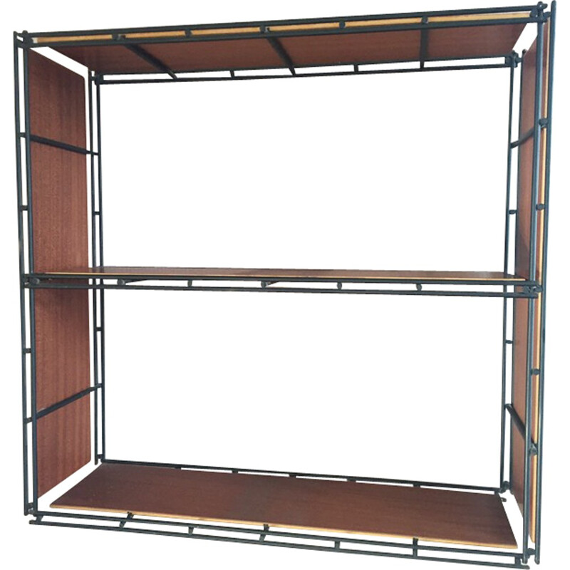 Vintage modular shelf by Multistrux - 1960s