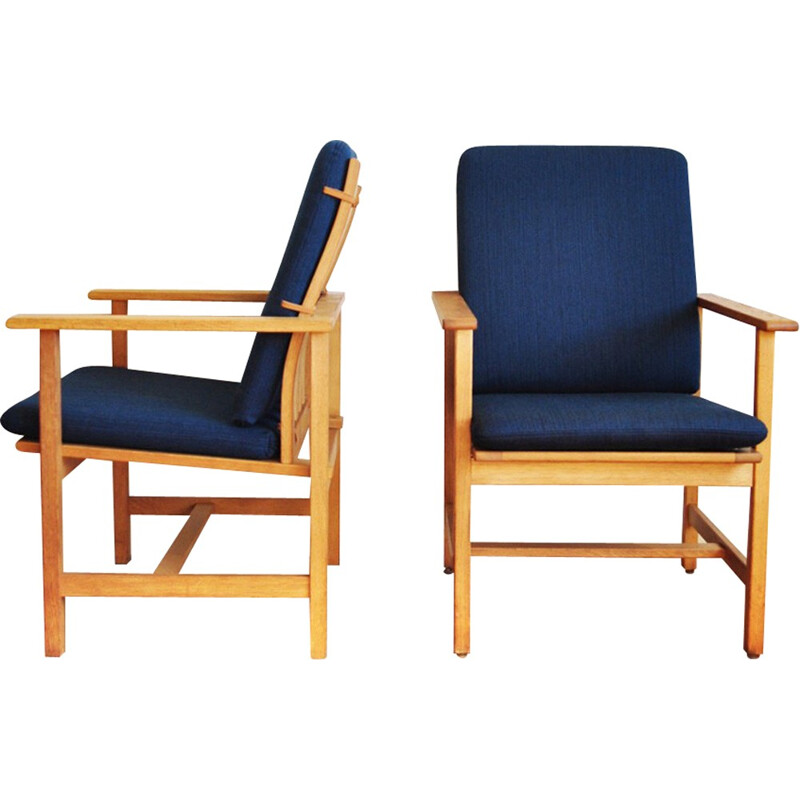 Vintage lounge chair by Borge Mogensen for Fredericia Stolefabrik - 1960s