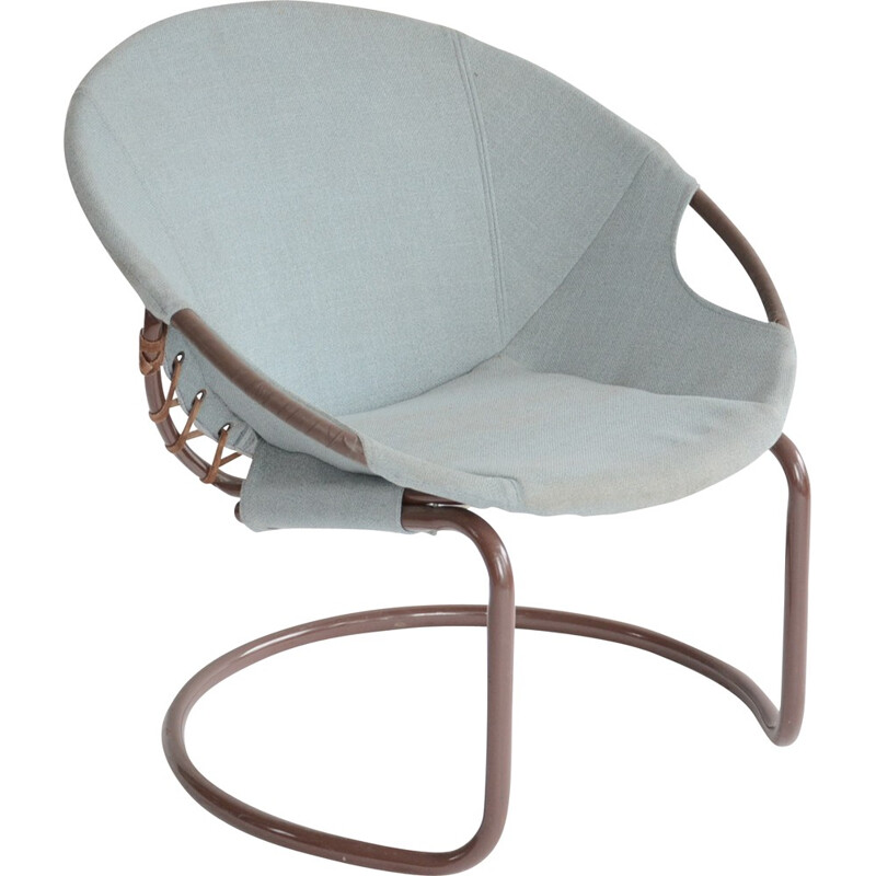 Pair of Lusch Erzeugnis Circle chairs for Lusch & Comaison edition - 1960s