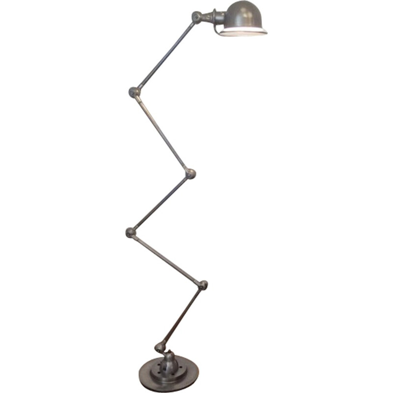 Vintage Jielde metal lamp with 5 parts - 1950