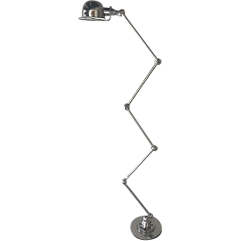 Vintage industrial lamp by Jean Louis Domecq for Jielde - 1950s
