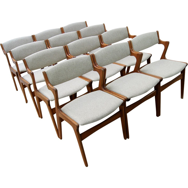 Set of 12 Dining Chairs from Nova - 1960s