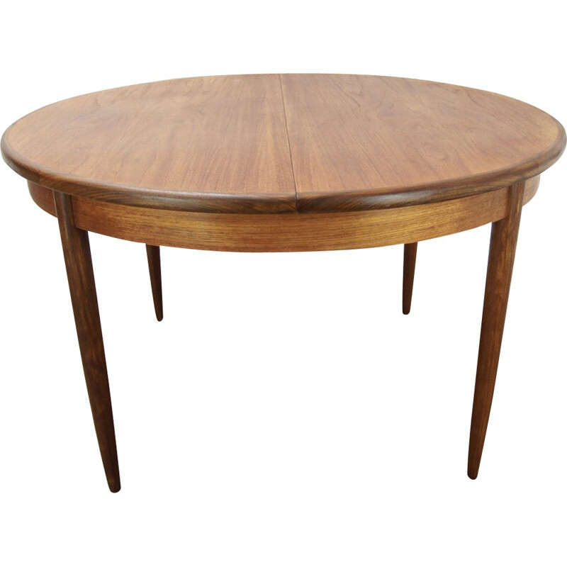 Vintage extendable dining table in teak for G-Plan - 1960s