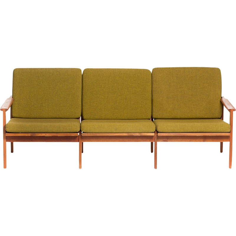 Vintage Capella sofa by Illum Wikkelso for N. Eilersen - 1950s