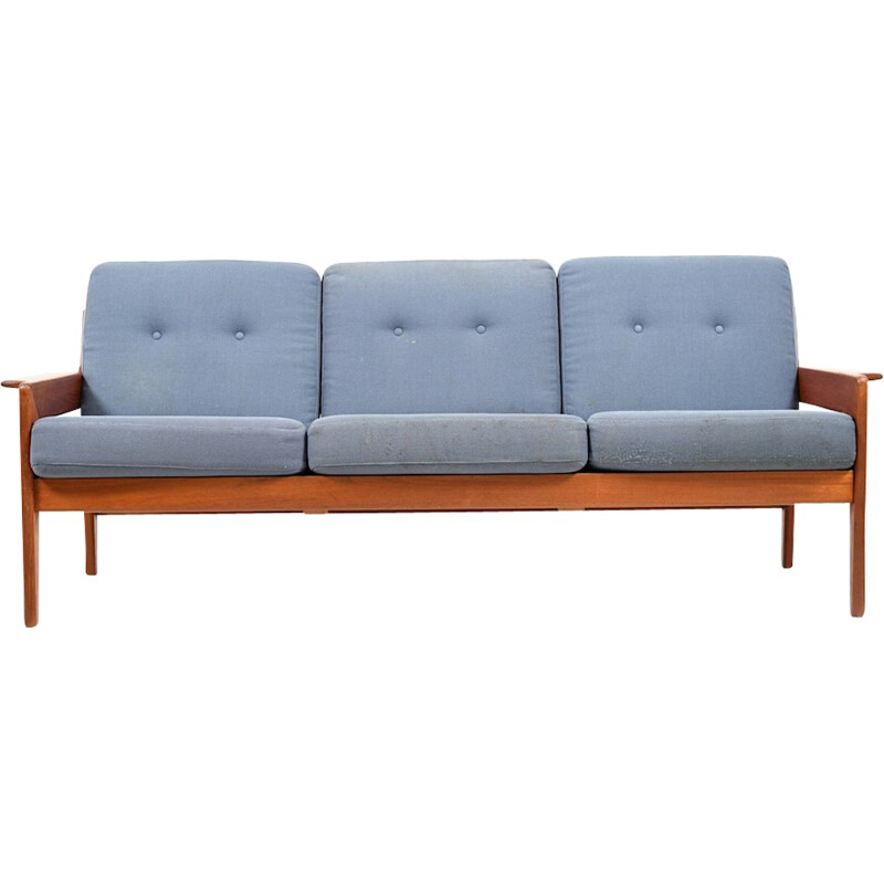 Vintage 3-seater sofa by Arne Wahl Iversen for Komfort - 1970s