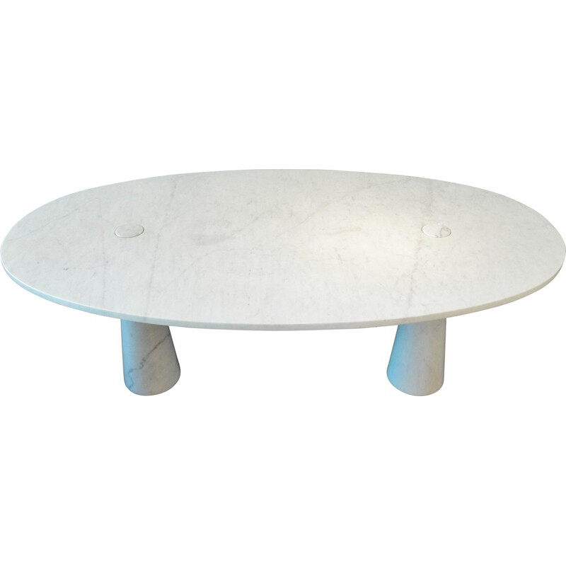 Vintage Eros dining table by Angelo Mangiarotti - 1970s