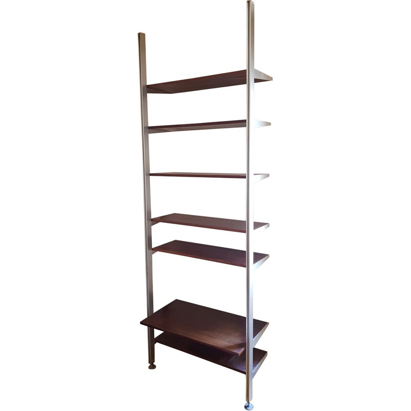 Vintage library shelf in rosewood by George Nelson - 1970s