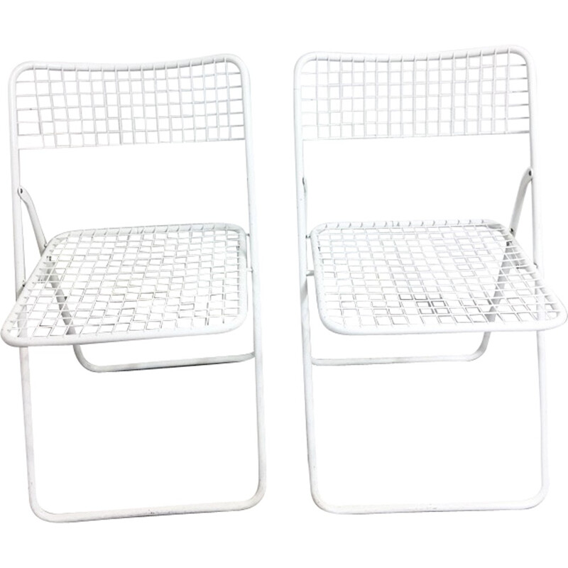 """Vintage """"Ted Net"""" chairs by Niels Gammelgaard for Ikea - 1970s"""