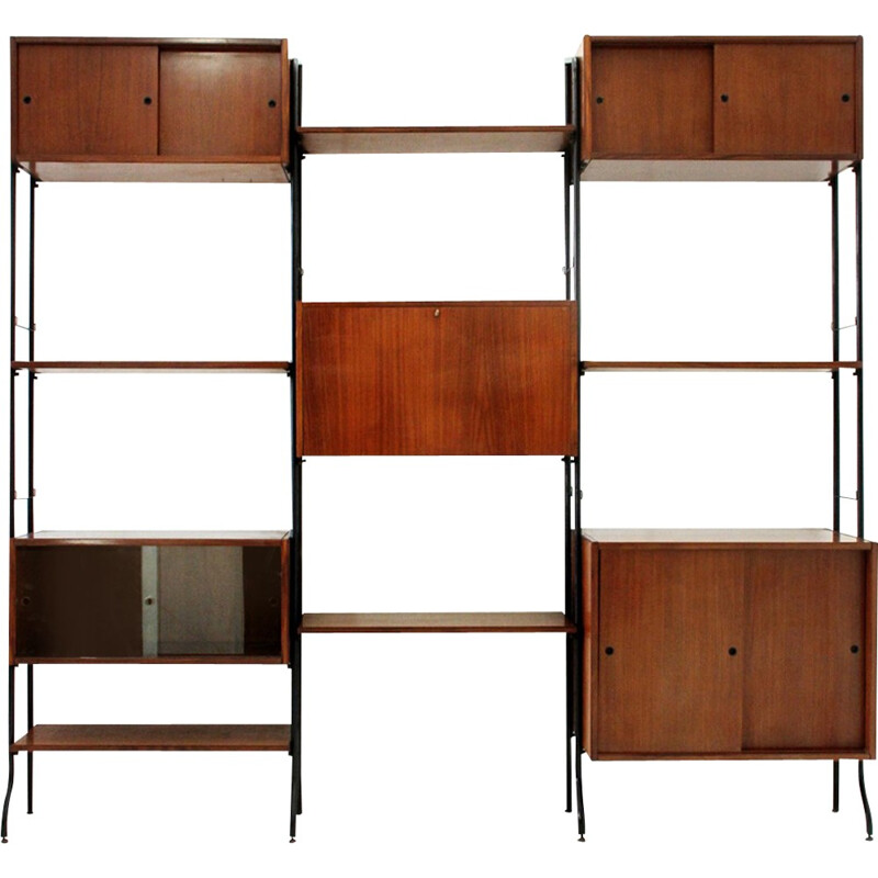 Vintage large library by Aedes for Amma Di Torino - 1950s