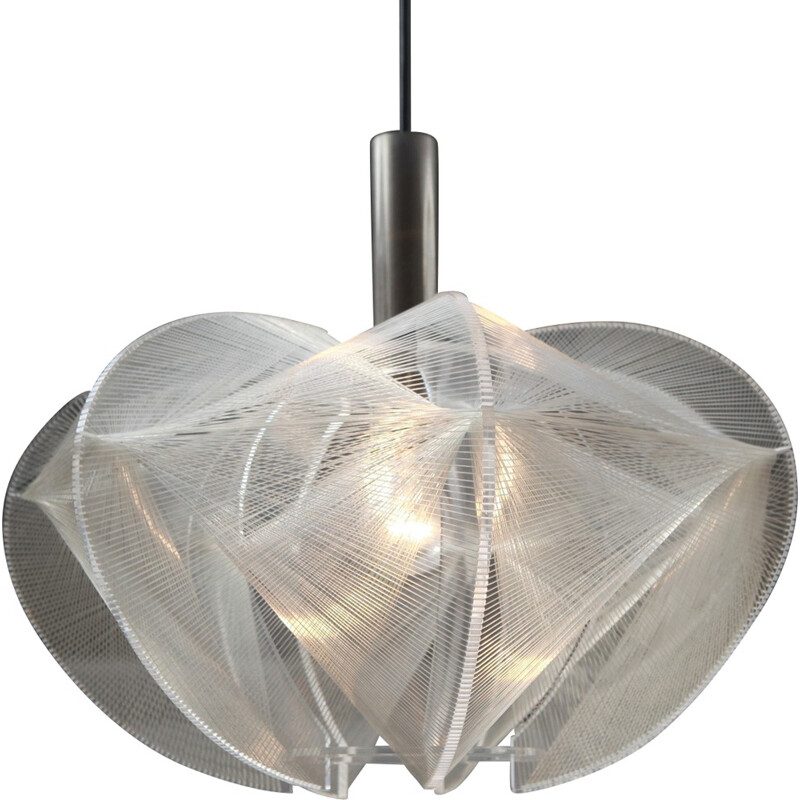 "Vintage ""Swag"" pendant lamp by Paul Secon, Germany - 1960s"