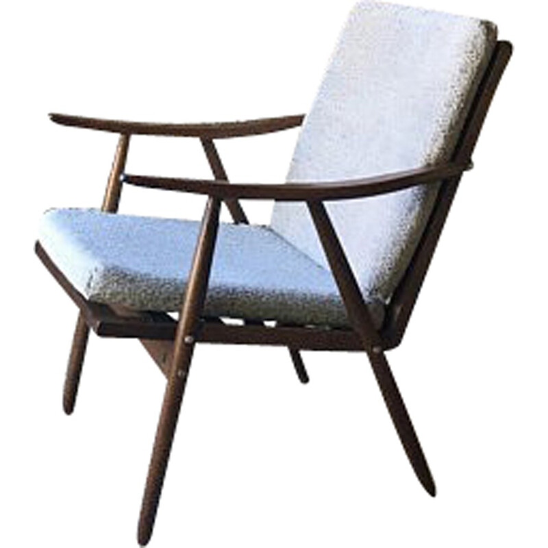 """Vintage """"Boomerang"""" armchair for Thonet - 1950s"""