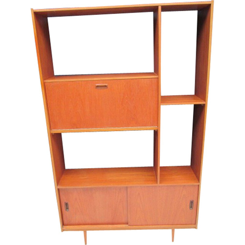 Vintage Library made of teak - 1960s