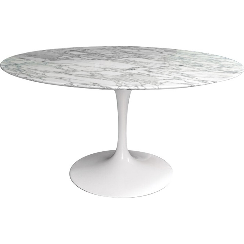Round Dining Table by Eero Saarinen for Knoll International - 1970s