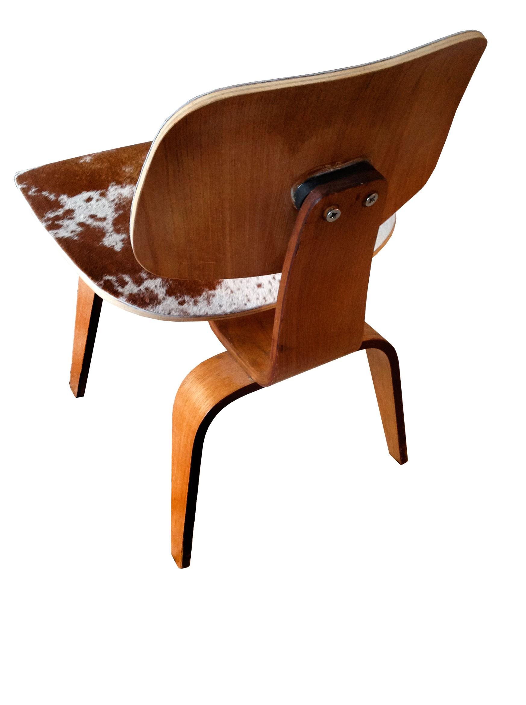 Vintage Quot Dcw Quot Chair By Herman Miller 1950s Design Market