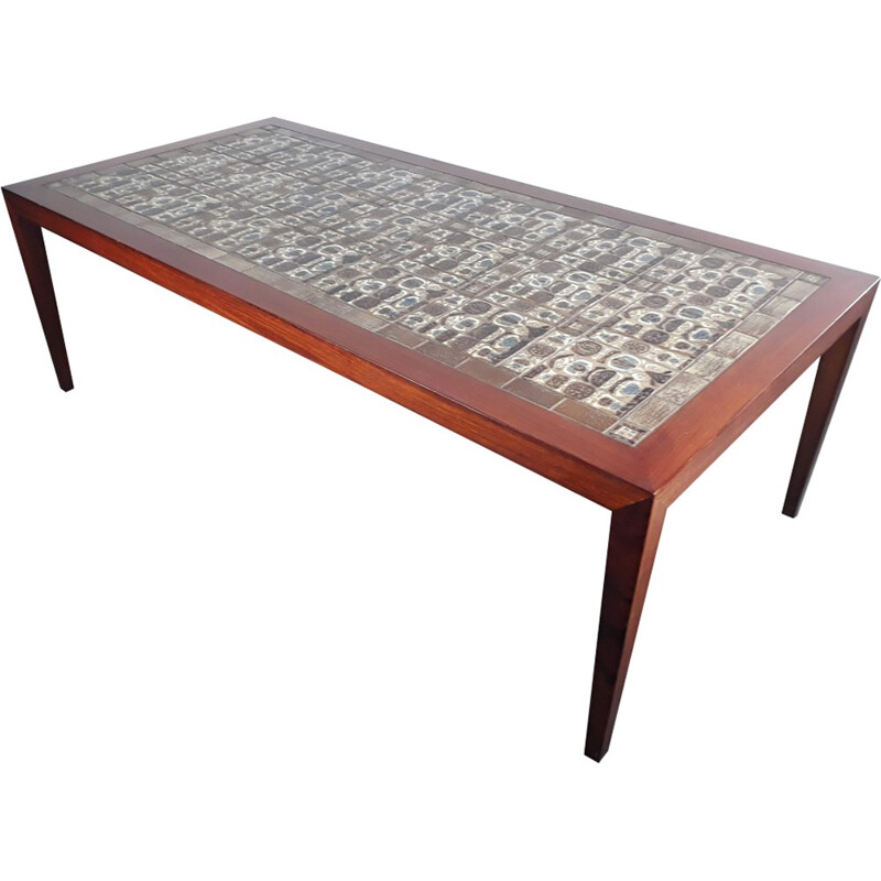 Vintage Coffee Table by Severin Hansen for Haslev Mobelfabrik - 1960s