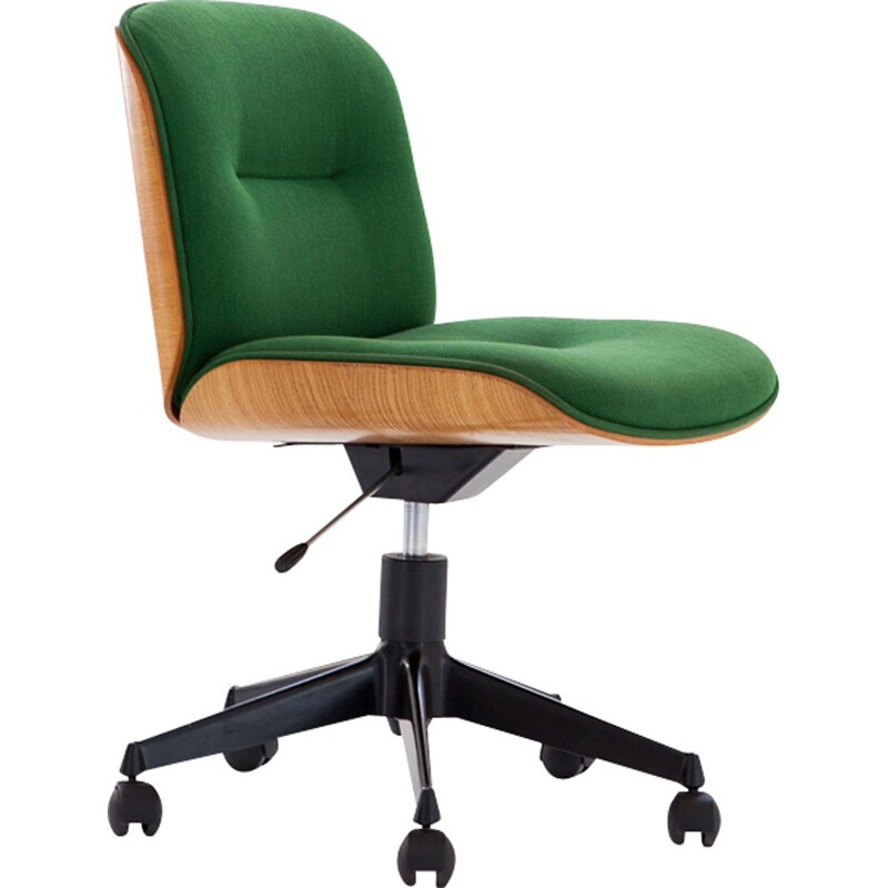Italian Swivel Chair by Ico Parisi for MIM Roma - 1960s