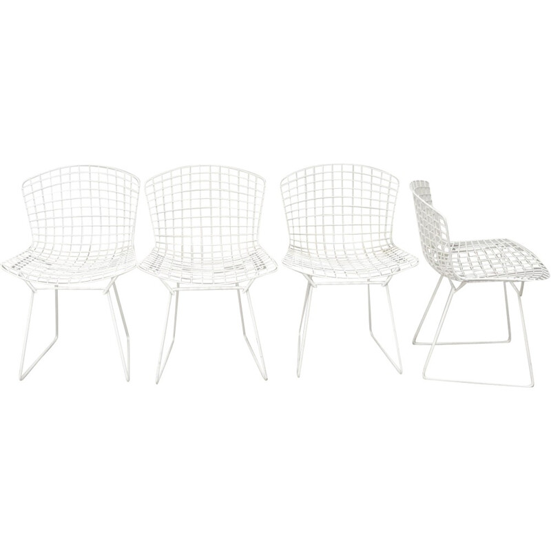 Set of 4 Harry Bertoia chairs for Knoll - 1970s