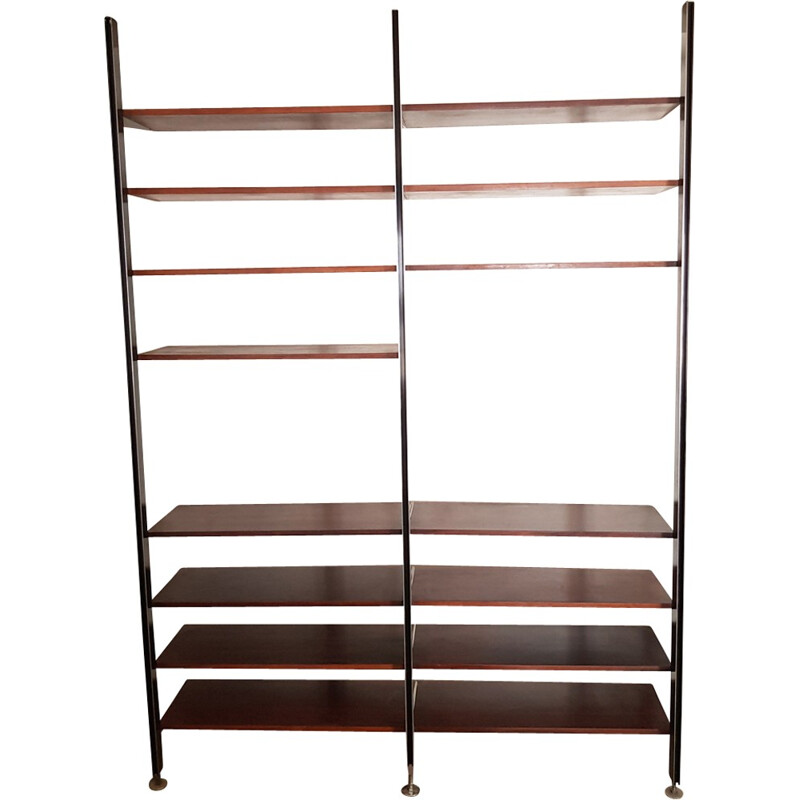 Vintage rosewood library-shelf by George Nelson - 1970s