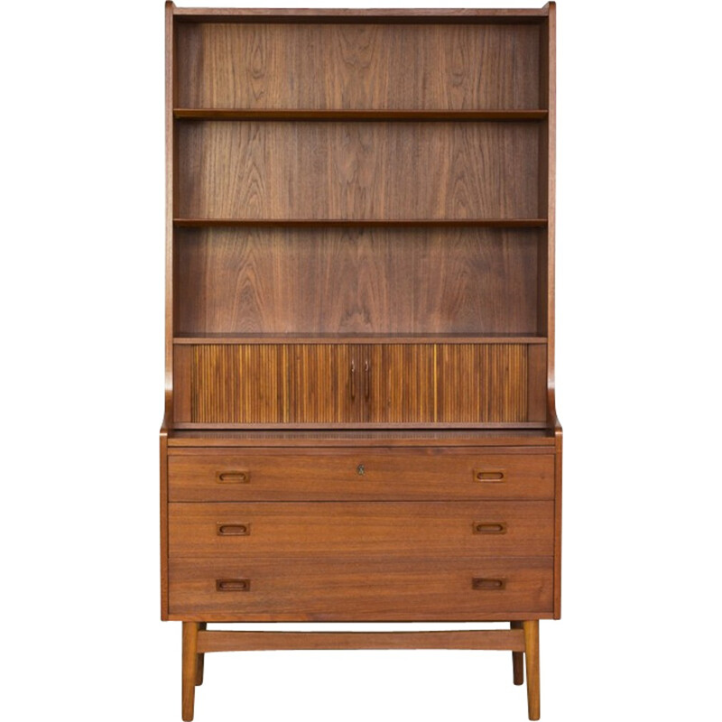 Vintage Secretary with book shelf  in teak by Nexø - 1960s