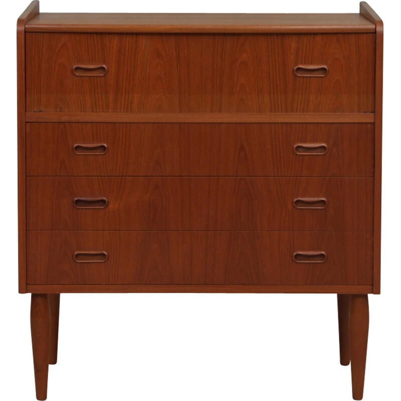 Vintage Danish secretary in teak - 1960s