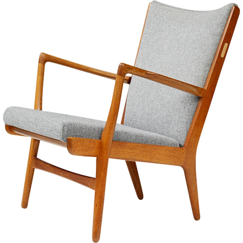 "Pair of Vintage chairs ""AP-16 "" in oak by Hans Wegner for A.P. Stolen - 1950s"