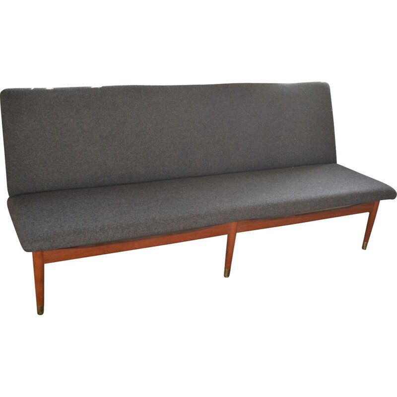 Vintage pair of 2 sofas Model 137 by Finn Juhl for France & Søn - 1950s