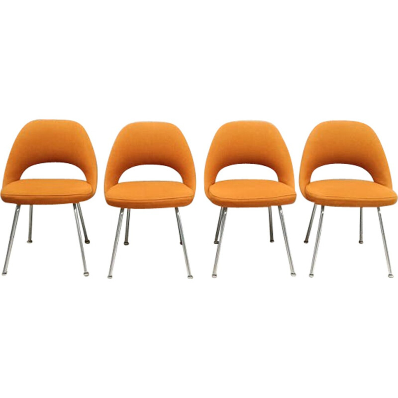 Suite of 4 conference chairs by Eero Saarineen for Knoll - 1960