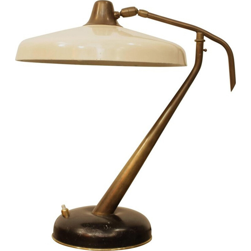 Vintage table lamp by Oscar Torlasco - 1950s