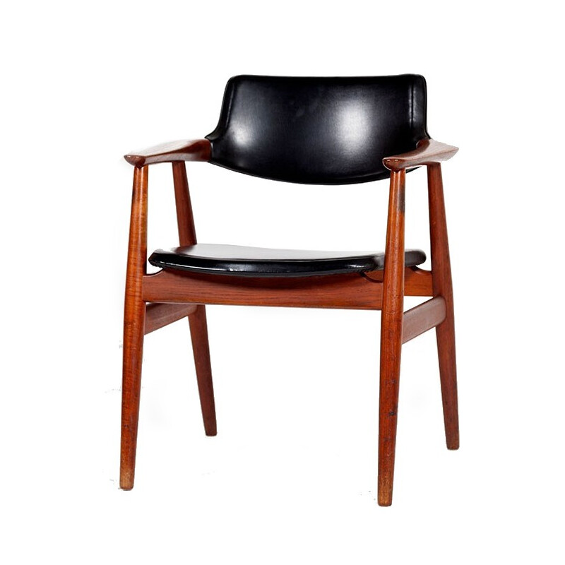 Teak Armchair by Erik Kirkegaard for Glostrup - 1960s