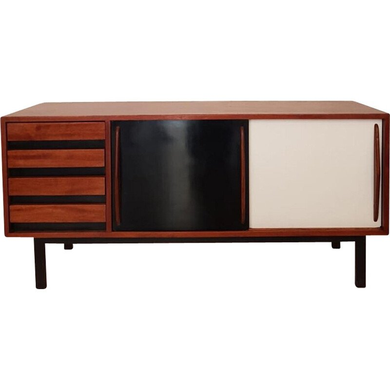 Vintage Cansado sideboard by Charlotte Perriand - 1950s