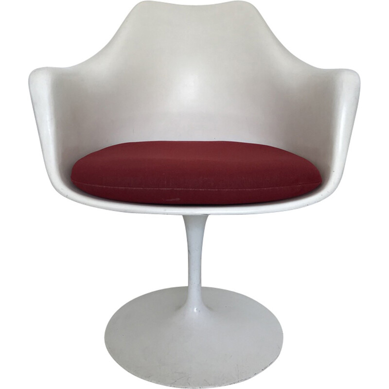 Vintage Tulip armchair by Eero Saarinen for Knoll International - 1960s
