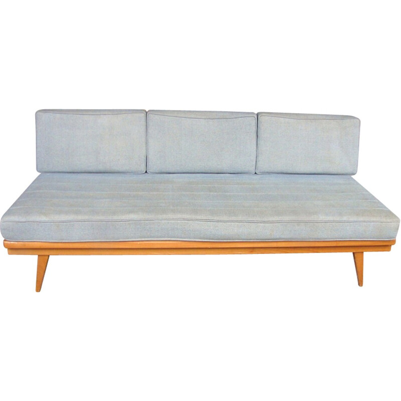 Vintage blue daybed sofa by Wilhelm Knoll - 1960s