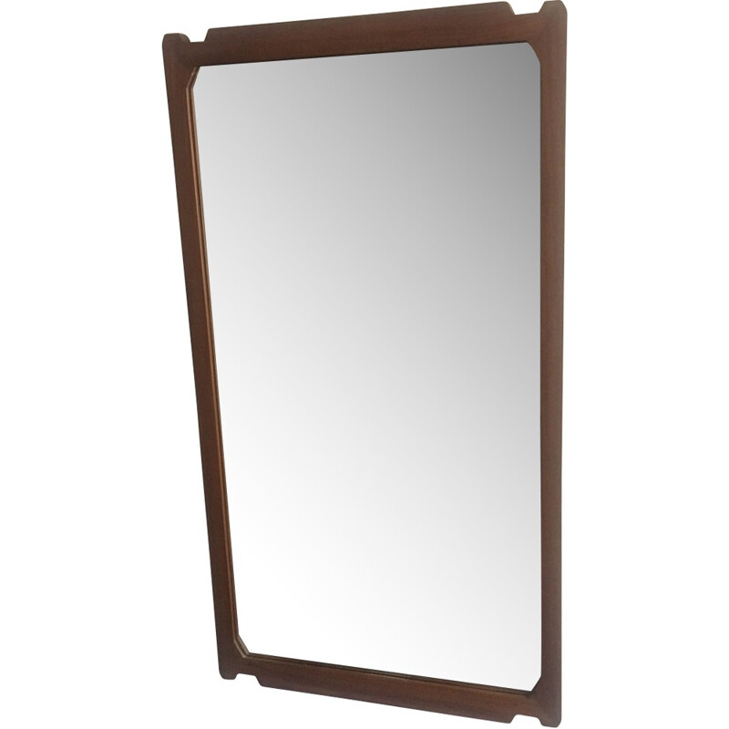 Vintage mirror with rectangular form fo G.Losi - 1960s