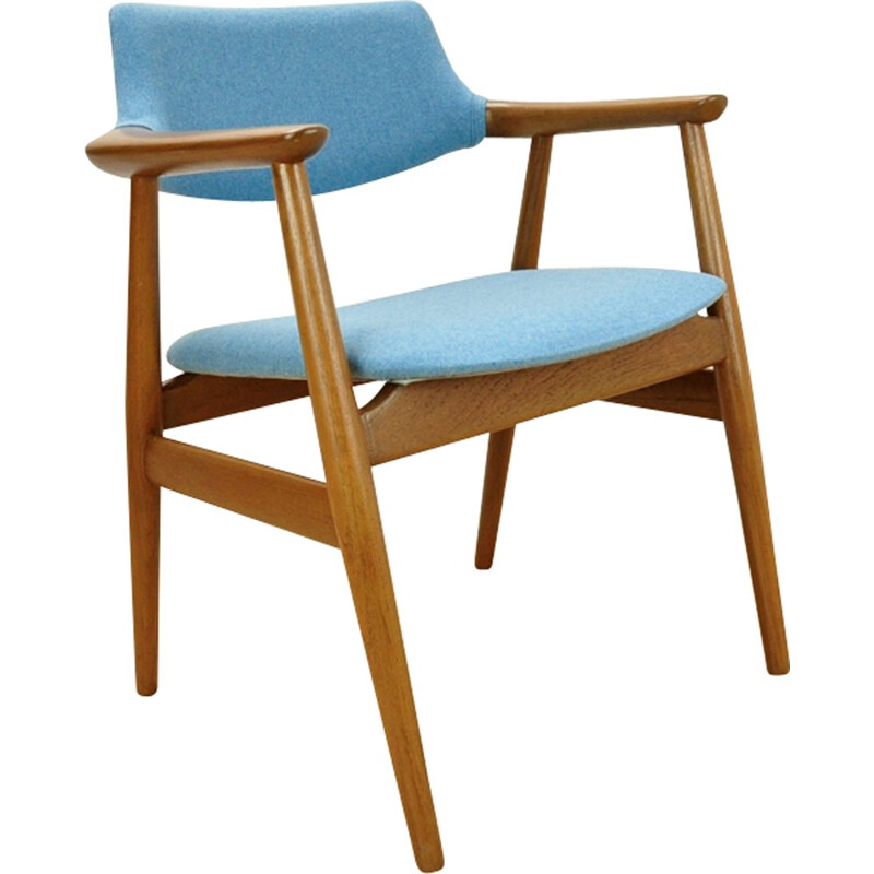 Vintage GM11 Teak Armchair by Svend Åge Eriksen for Glostrup - 1950s