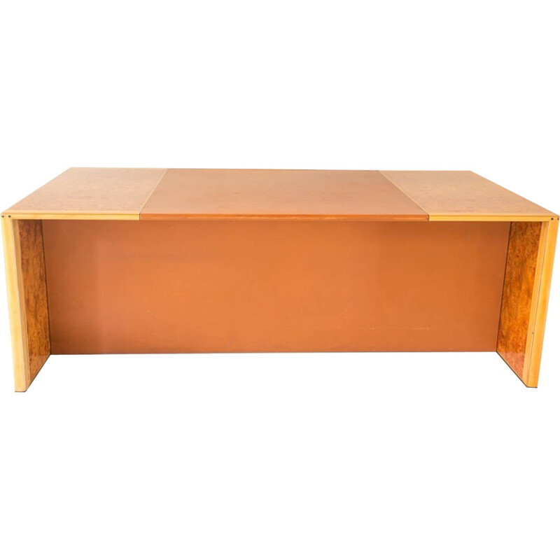 """Vintage """"Africa"""" desk by Tobia Scarpa for Max Alto - 1970s"""