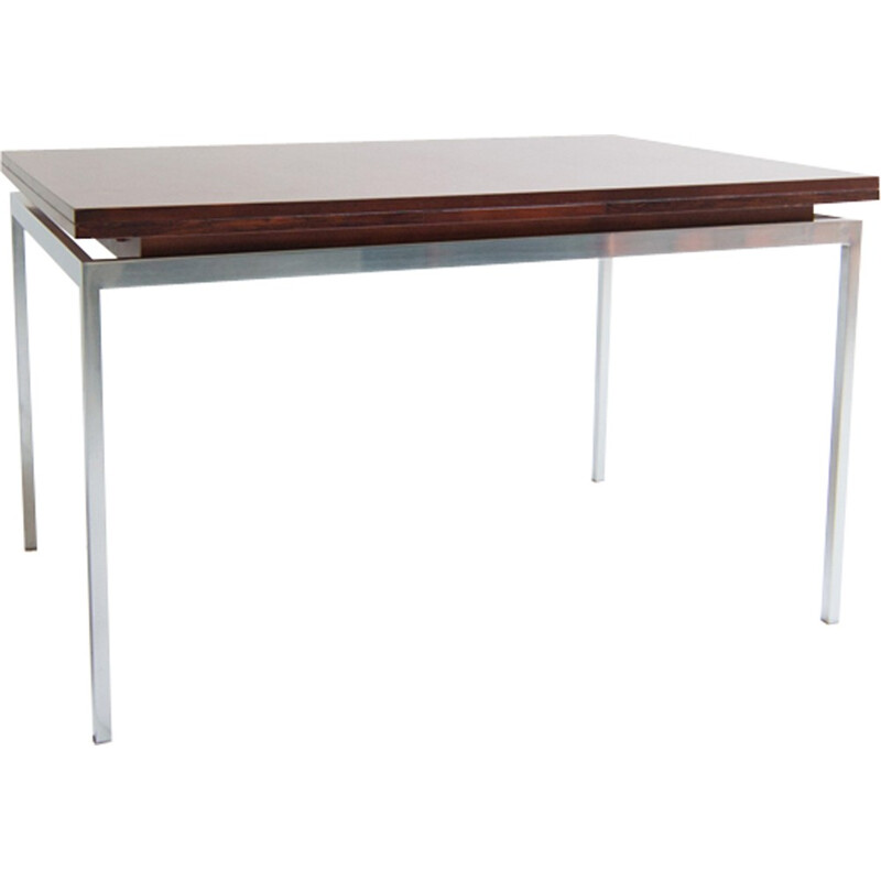 Vintage dining table in rosewood for Lübke - 1960s