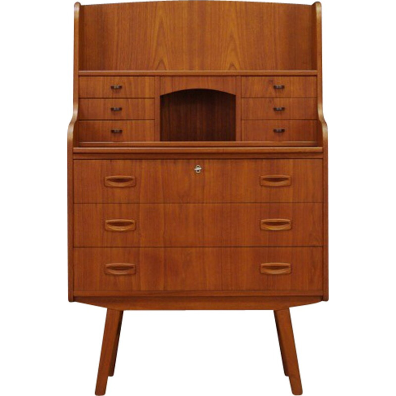 Vintage danish secretaire in teak - 1960s