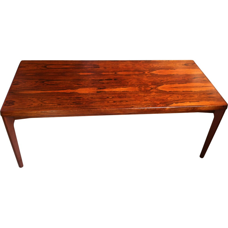 Vintage Coffee Table in Rio Rosewood  by Henry Walter Klein - 1960s