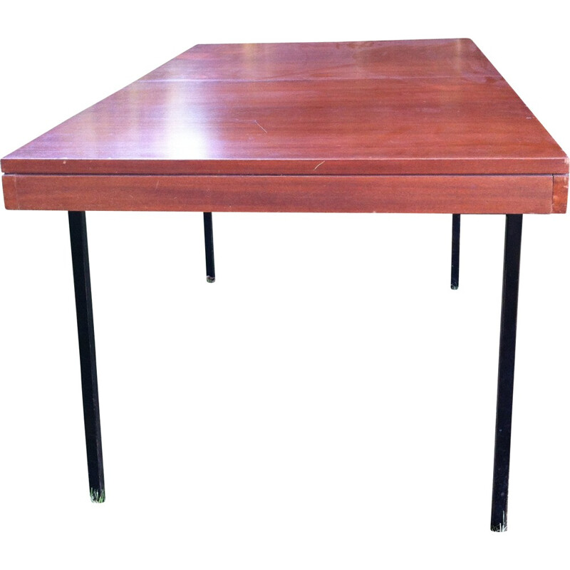 Vintage dining table in mahogany by the ARP for Minvielle - 1950s