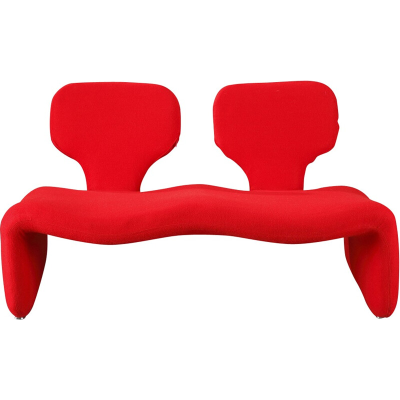 Vintage 2-seater sofa by Olivier Mourgue for Airborne - 1960s
