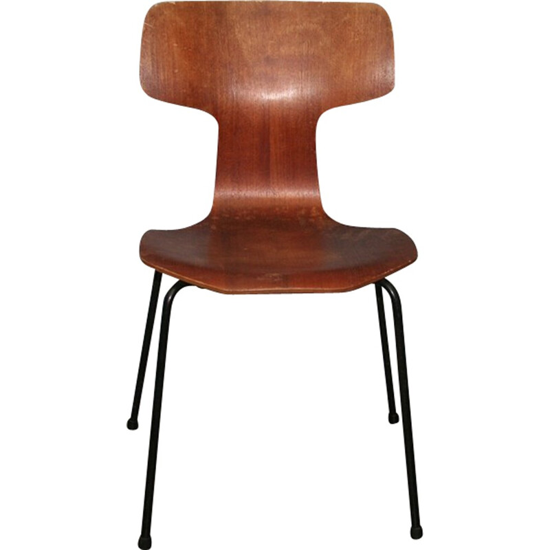 Hammer Chair No.1 by Arne Jacobsen for Fritz Hansen - 1969
