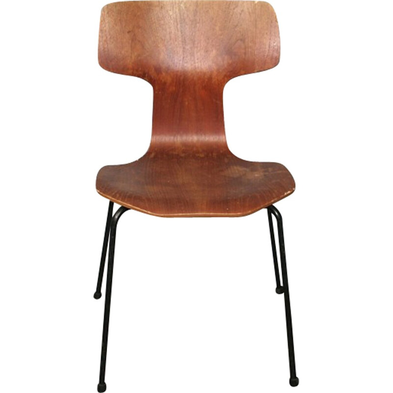 Hammer Chair No.2 by Arne Jacobsen for Fritz Hansen - 1969