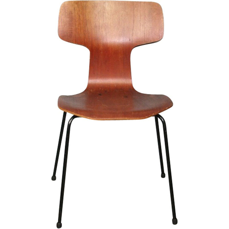Hammer Chair No.3 3103 by Arne Jacobsen for Fritz Hansen - 1969