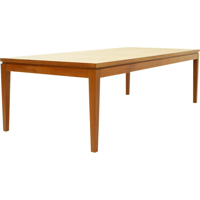 Vintage Huge German Teak Coffee Table - 1960s