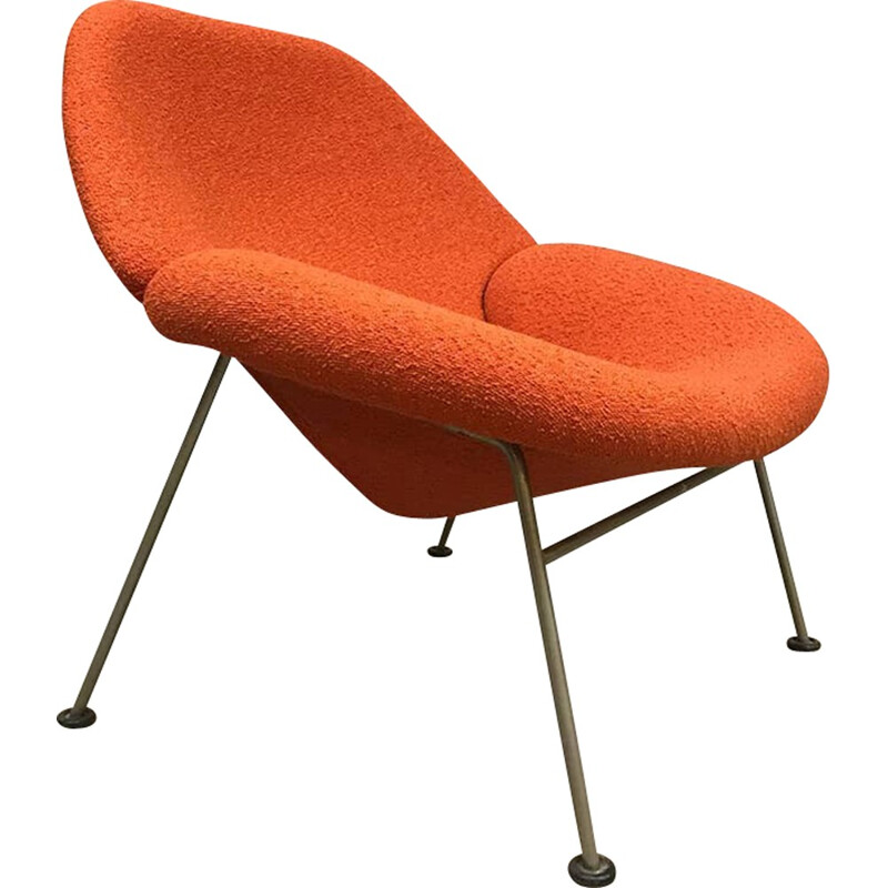 "Vintage lounge chair ""F555"" by Pierre Paulin for Artifort - 1970s"