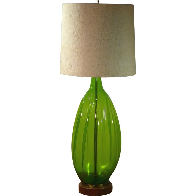 Vintage Table Lamp In N Gl For