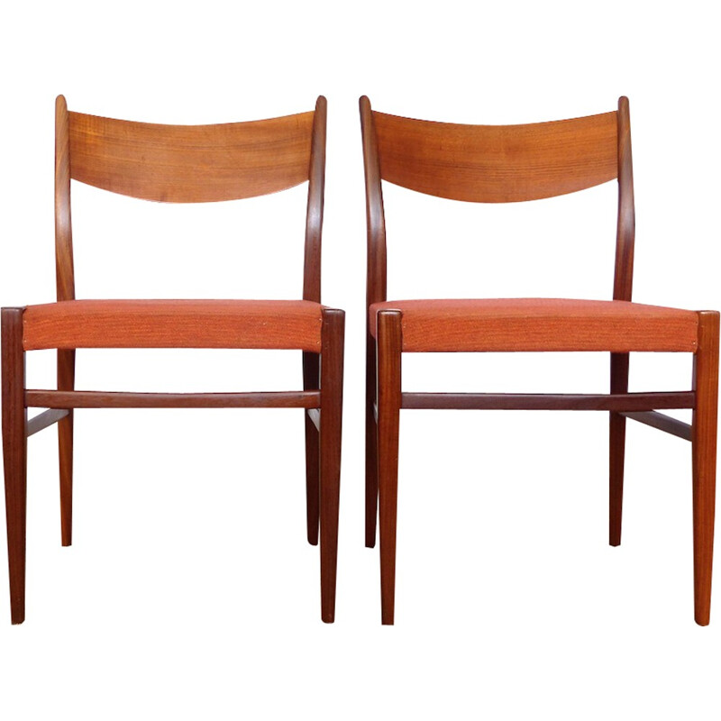 Set of 2 Vintage chairs by Cees Braakman - 1960s