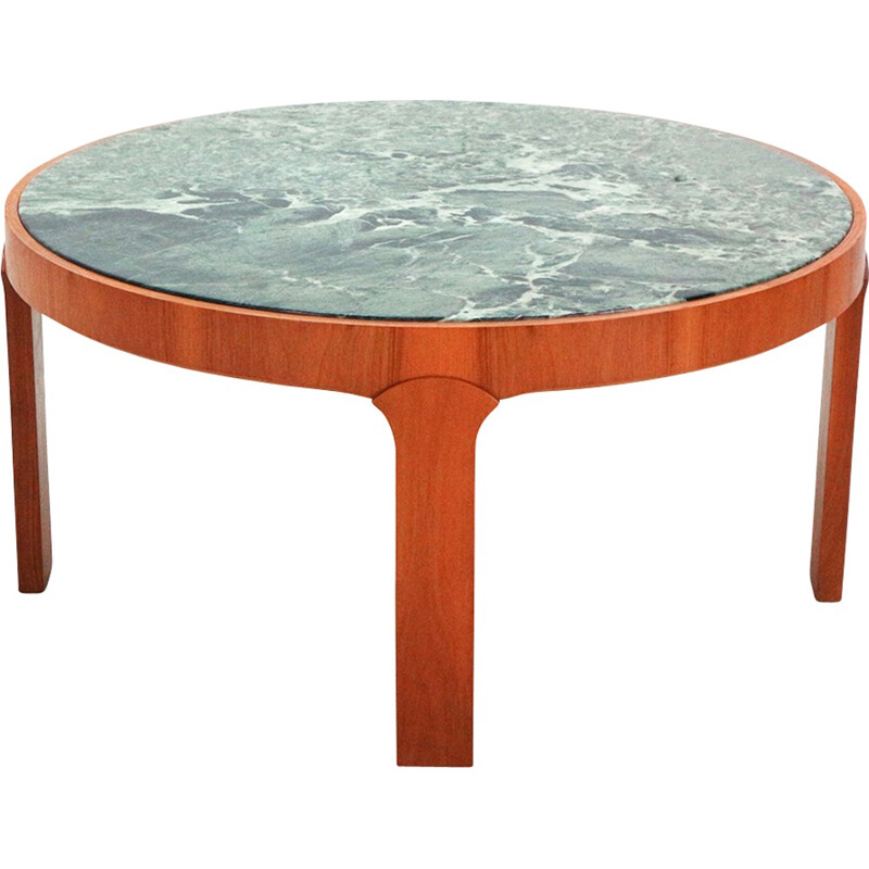 Vintage coffee table in marble - 1970s