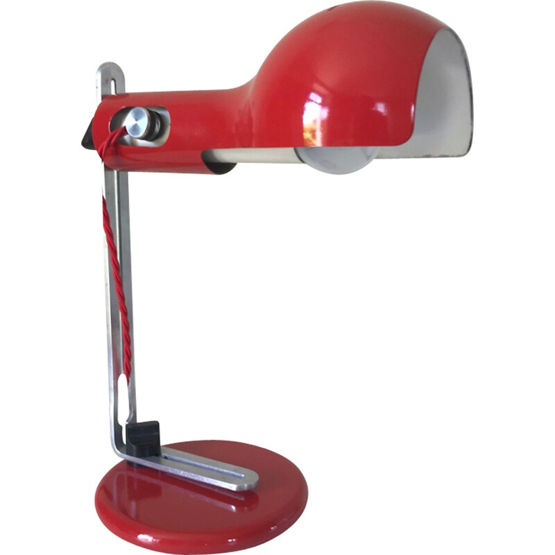 "Vintage desk lamp ""flash"" by Joe Colombo - 1970s"