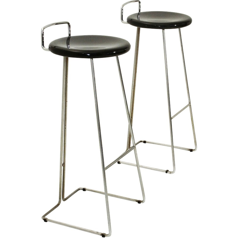 Set of 2 Stools by Georges Coslin for Dada - 1970s